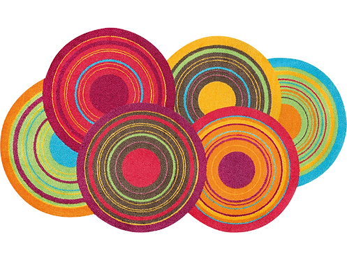 Kleen-Tex wash+dry Floor Mat Design -  Cosmic Colours