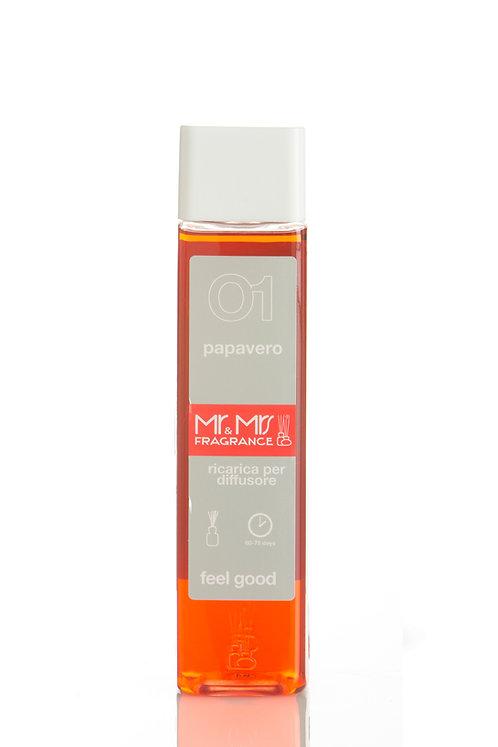 EASY Fragrance Refill 300ml - Papavero (Poppy)
