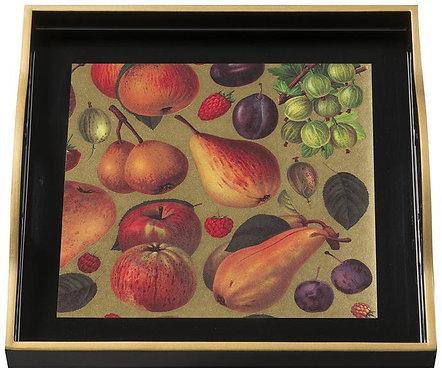 Fruits, Small Black Tray