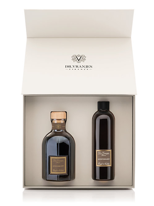 Dr. Vranjes Oud Nobile Gift Box 500ml Diffuser with 500ml Refill