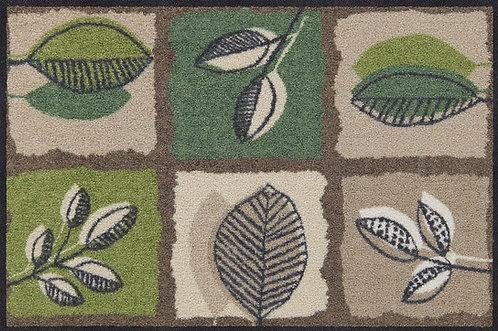Salonloewe Floor Mat Design - Green Spirit