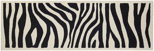 Salonloewe Floor Mat Design - Zebra Look (60 X 180)