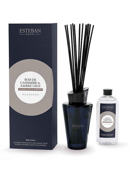 Esteban Paris Parfums Cashmere Wood & Ambergris Diffuser (150ML)