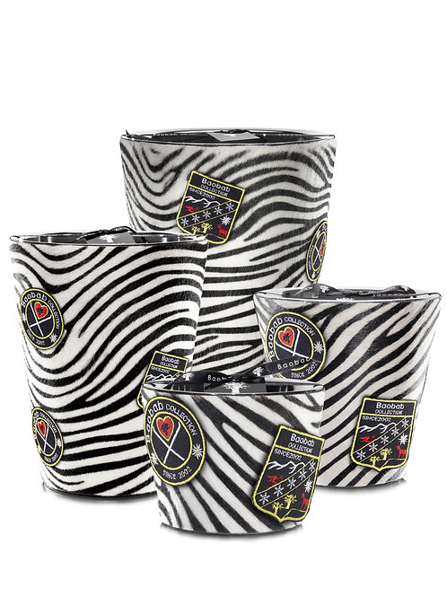 Baobab Collection Jungle Mountain - Zebrino Candle (Max 10 & Max 16)