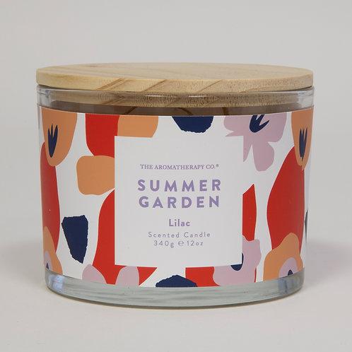 TAC Summer Garden Candle - Lilac (340g)