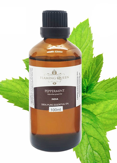 Flaming Queen Essential Oil - Peppermint 100ML (India)