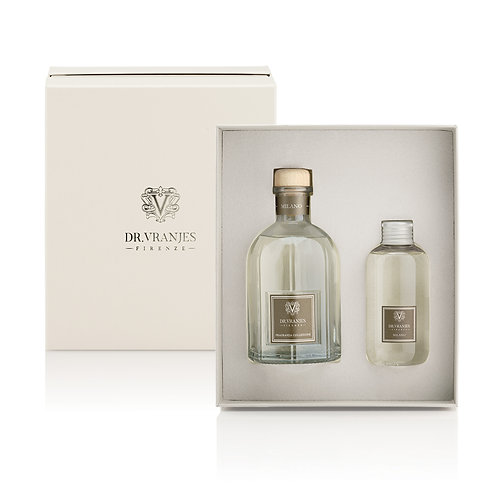 Dr. Vranjes Firenze Milano Gift Box 250ml Diffuser with 150ml Refill