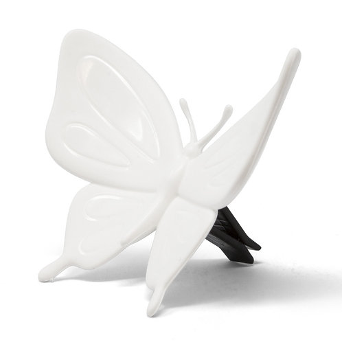 Forest Butterfly White - Cucumber (for Car)