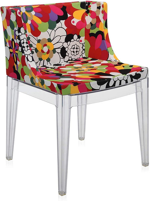 Kartell Mademoiselle Armchair with Missoni cover