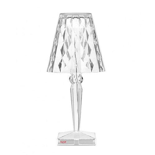 Kartell Battery LED Lamp - Crystal