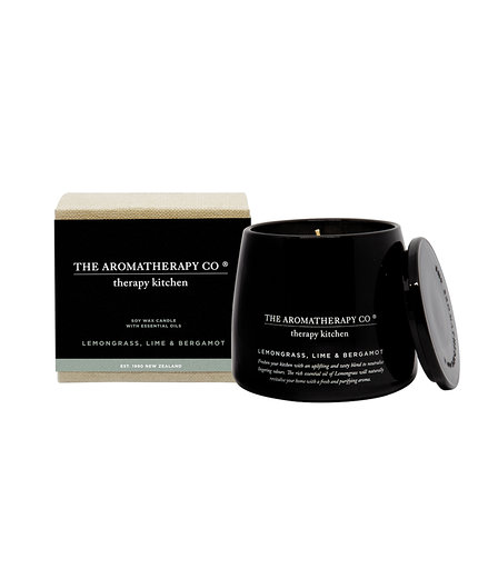 Therapy® Kitchen Candle - Lemongrass, Lime & Bergamot (260g)