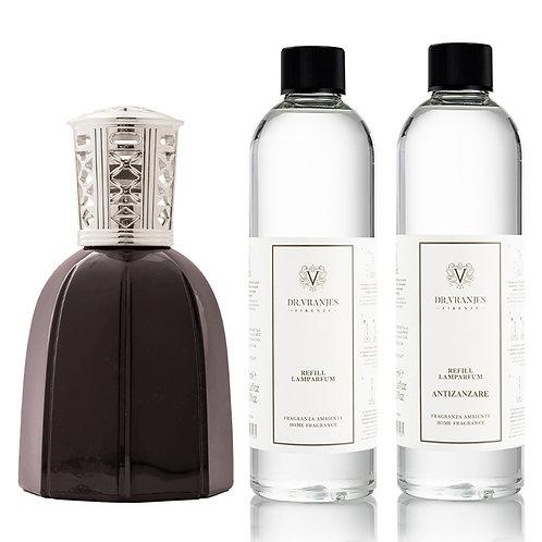 Dr. Vranjes Firenze Black Lamparfum+Choice of Scent+FREE Antizanzare Scent