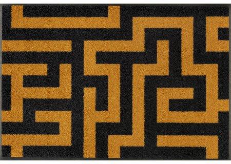 Kleen-Tex wash+dry Floor Mat Design - Labyrinth