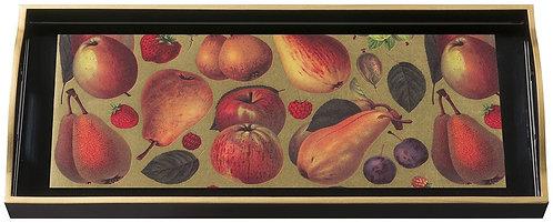 Fruits, Sandwich Black Tray