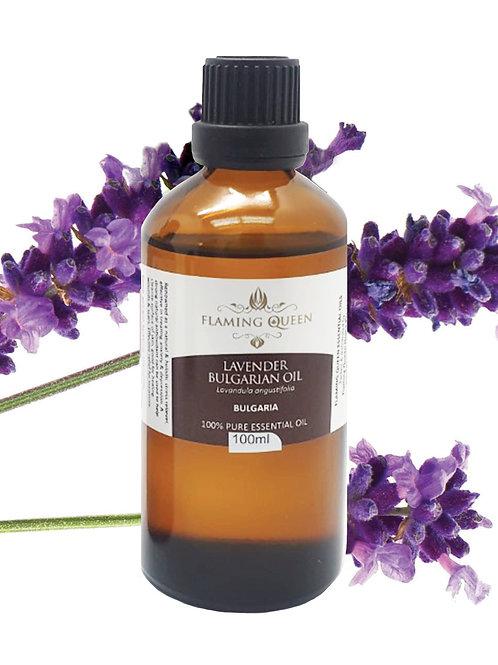 Flaming Queen Essential Oil - Lavender Bulgarian 100ML (Bulgaria)
