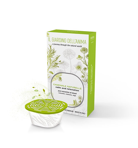 Natural Camomile Scented Capsule (Calm & Relaxation)