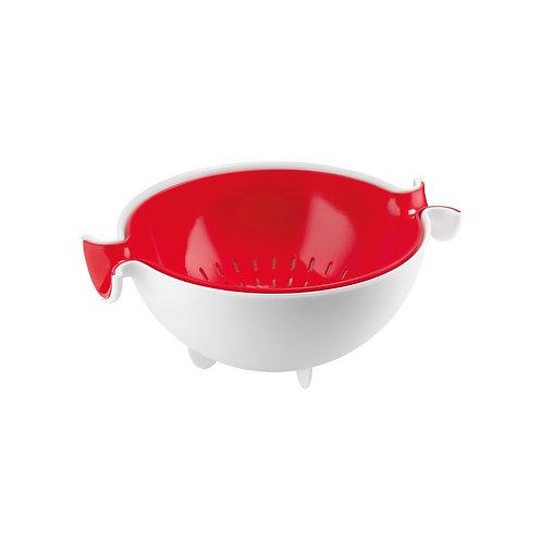 Colander& Bowl Set - Red