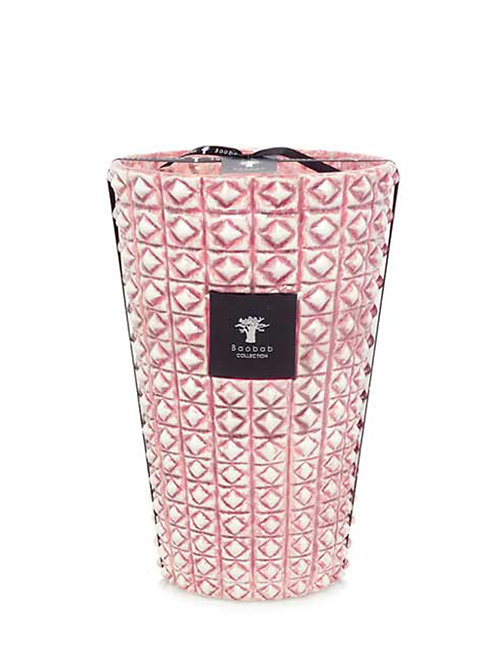 Modernista Ceramica Volcan Candle - Pink (Maxi Max)