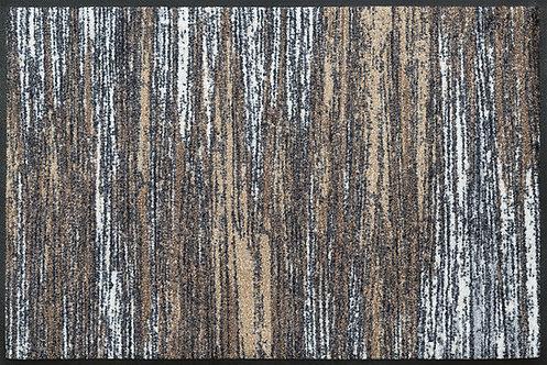 Kleen-Tex wash+dry Floor Mat Design - Scratchy Beige