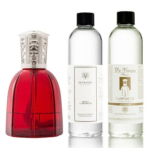 Dr. Vranjes Firenze Red Lamparfum + Choice of Scent + FREE Antizanzare Scent
