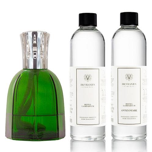 Dr. Vranjes Firenze Green Lamparfum+Choice of Scent+FREE Antizanzare Scent