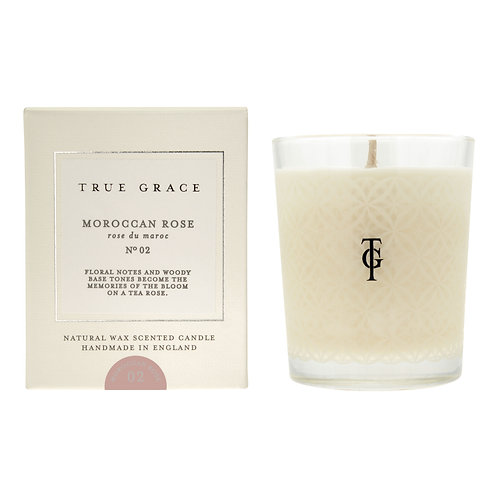 True Grace Village Classic Candle - Moroccan Rose (190G)
