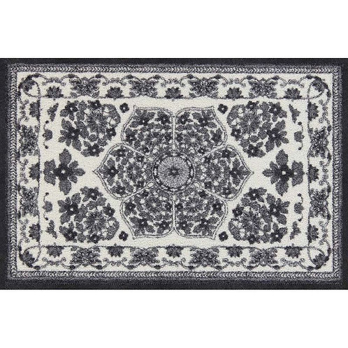 Salonloewe Floor Mat Design - Zimra Grey (Schwarz)