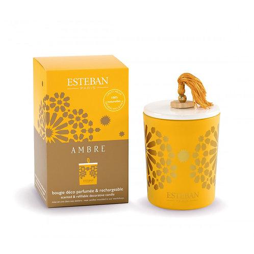 Esteban Paris Parfums Classic Ambre Decorative Candle (170G)