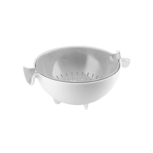Colander & bowl set - Grey
