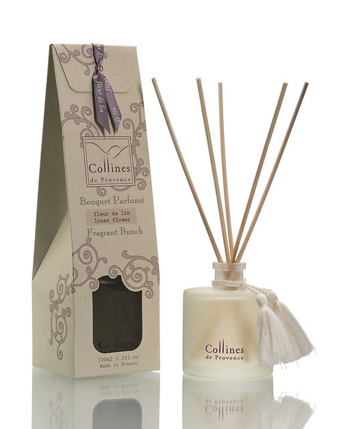 Linen Flower - Fragrant Diffuser (100ml)
