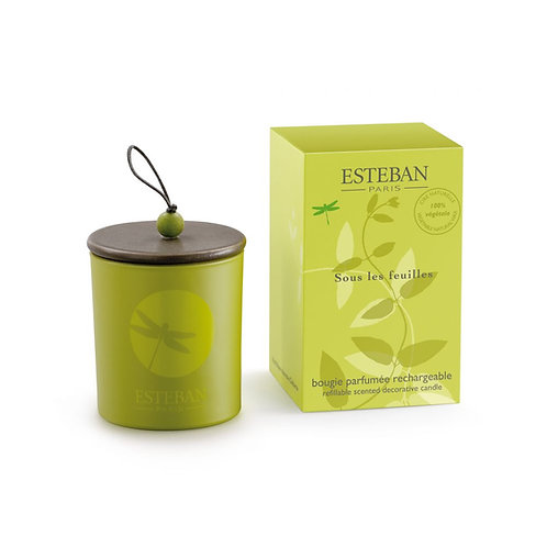 Esteban Paris Parfums Classic Sous Les Feuilles Decorative Candle (170G)