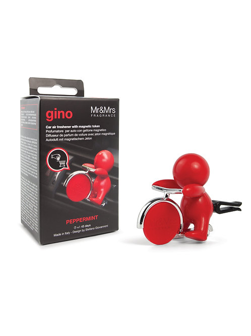 Gino Car Red w/ Token (Peppermint)