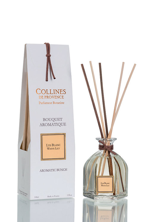 White Lily - Aromatic Bunch Diffuser (100ml)
