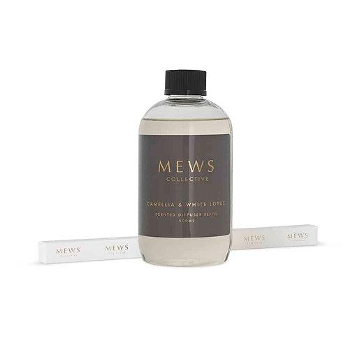 Mews Collective 500ml Refill -  Camellia & White Lotus