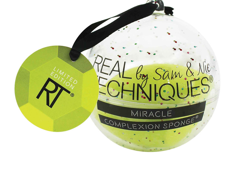 Miracle Complexion Sponge Ornament - Yellow