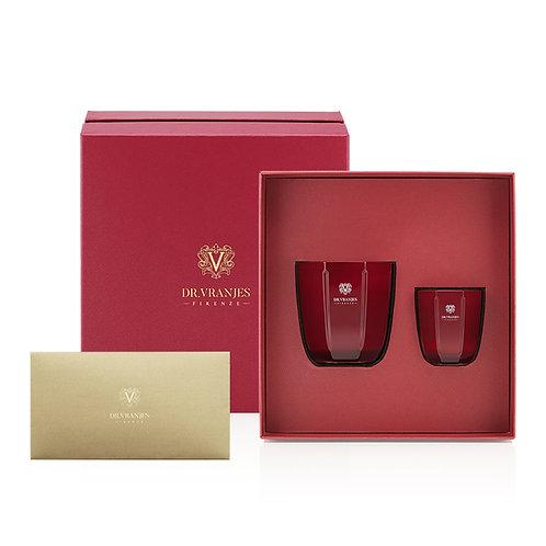 Dr. Vranjes Firenze Rosso Nobile 200g Candle + 80g Candle Gift Set
