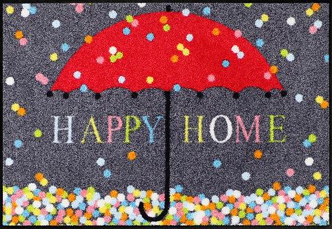 Salonloewe Floor Mat Design - Schirm Konfetti  (Happy Home) - 50 X 75