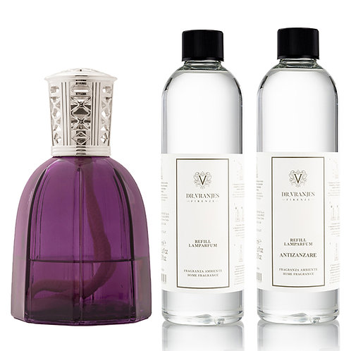Dr. Vranjes Firenze Purple Lamparfum+Choice of Scent+FREE Antizanzare Scent