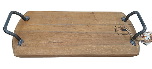 "Vine Platters - Hampton Rectangular Serving Platter, Large (23"" x 9"")"