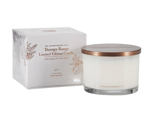 TAC Therapy® Candle Limited Edition Pink Pepper and Violet Musk (340g)