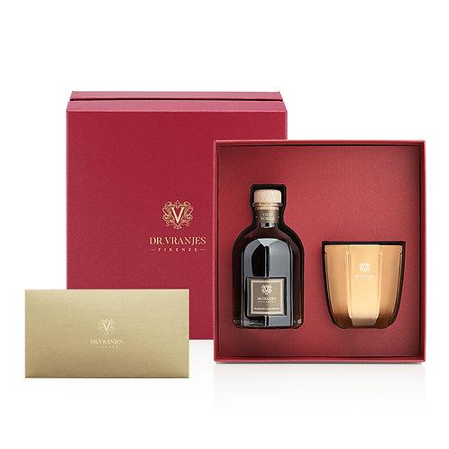 Dr. Vranjes Oud Nobile 250ml Diffuser + 200g Candle Gift Set