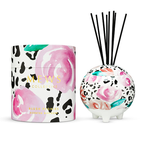 Mews Collective 350ml Diffuser - Blush Peonies