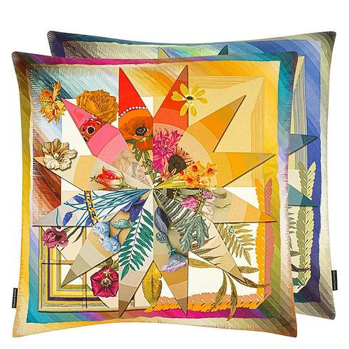 Christian Lacroix Botanic Rainbow Multicolore Cushion (50 x 50 cm)