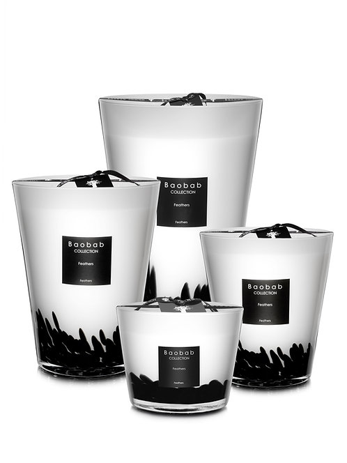Feathers Candle