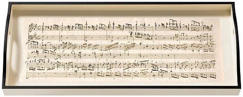 Music Mozart, Sandwich Cream Tray