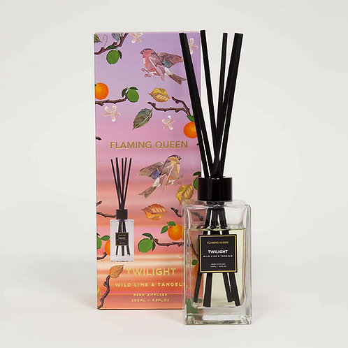 Flaming Queen Lush Twilight 200ml Diffuser - Wild Lime & Tangelo