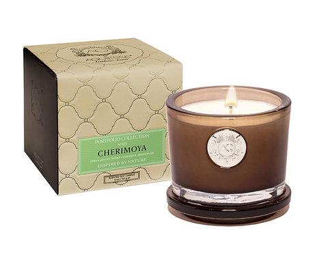 Aquiesse Portfolio Small Soy Boxed Scented Candle - Cherimoya (5oz)
