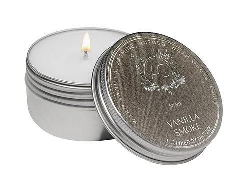 Aquiesse Vanilla Smoke Soy Travel Tin Candle (2oz)