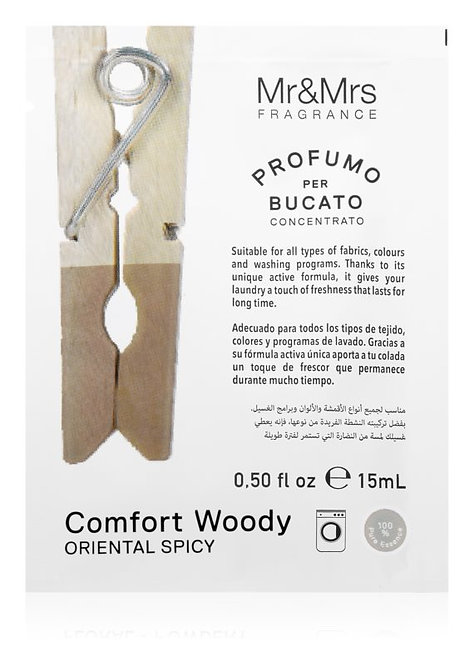 Concentrated Laundry Sachet - Comfort Woody (15ml)