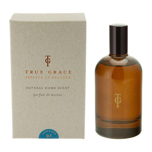 True Grace Burlington Room Spray - Cedar & Rose (100ML)
